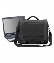 QUADRA BAGS TUNGSTEN LAPTOP BRIEFCASE