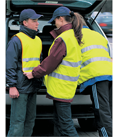 RESULT HIGHVIZ MOTORWAY SAFETY VESTS