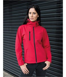 Result Core Ladies Lite Hooded Softshell