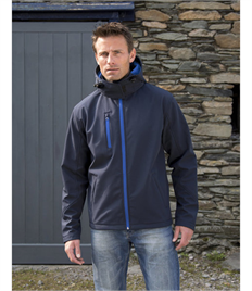 Result Core Men's TX Performance Hooded Softshell Jacket