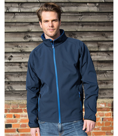 Result Core Mens Printable Softshell Jkt