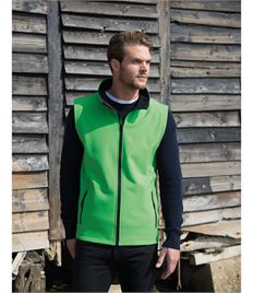 RESULT PRINTABLE SOFTSHELL BODYWARMER