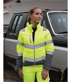 RESULT WOMENS SOFT PADDED SAFETY JACKET