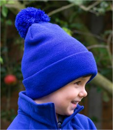Result Core Kids Pom Pom Beanie