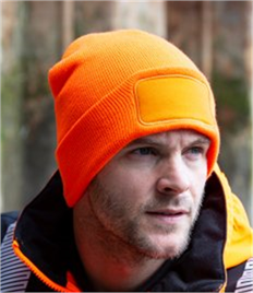 "Result Double Knit Thinsulateâ""¢ Printers Beanie"