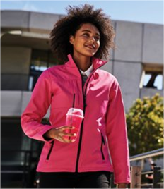 REGATTA LADIES OCTAGON II PRINTABLE 3 LAYER MEMBRANE SOFTSHELL