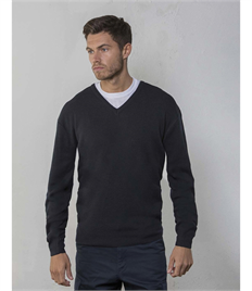 RTY V-NECK ACRYLIC WOOL SWEATER