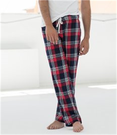 SKINNI FIT MENS TARTAN LOUNGE PANTS