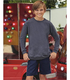 FRUIT OF THE LOOM KIDS VALUEWEIGHT L/SLEEVE T