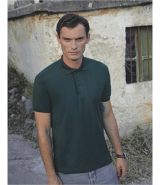 FRUIT OF THE LOOM HEAVYWEIGHT 65/35 PIQUE POLO