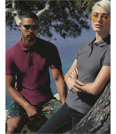 FRUIT OF THE LOOM PREMIUN COTTON POLO