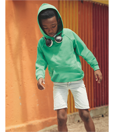 FRUIT OF THE LOOM KIDS LIGHTWEIGHT HOODED SWEAT