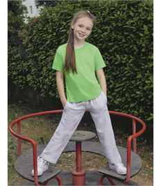 FRUIT OF THE LOOM KIDS LW OPEN HEM JOG PANTS