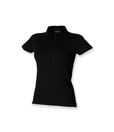 SKINNI FIT LADIES SHORT SLEEVE STRETCH POLO