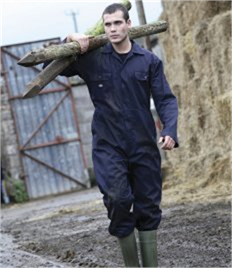 DICKIES ECONOMY STUD FRONT COVERALL