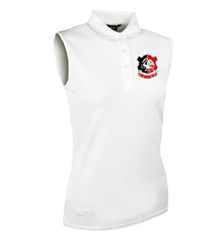 Glenmuir Ladies Sleeveless Polo Shirt